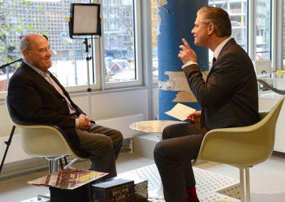 Kommunikations- & Erfolgstrainer Ingo Hoppe mit Gregor Gysi