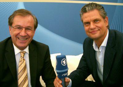 Kommunikations- & Erfolgstrainer Ingo Hoppe mit Jan Hofer
