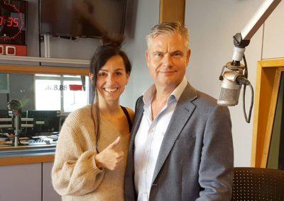 Kommunikations- & Erfolgstrainer Ingo Hoppe mit Katia Saalfrank