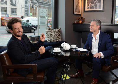 Kommunikations- & Erfolgstrainer Ingo Hoppe mit Oliver Mommsen